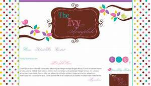 blog templates for teachers birds pink cute ivy bd web With free blog templates for teachers