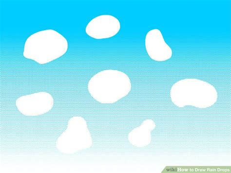 draw rain drops  steps  pictures wikihow