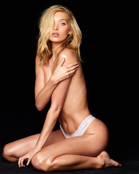 Elsa Hosk Naked And Topless Victorias Secret Angel