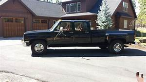 1989 Chevrolet 1 Ton R3500 Dually Crew Cab Low Miles For Sale