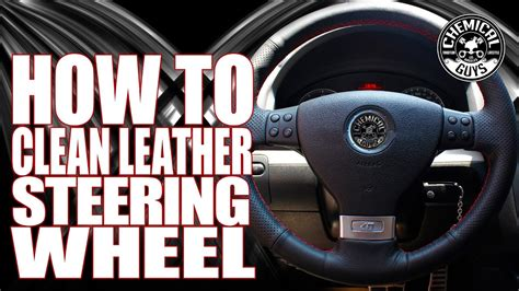 How To Clean Leather Steering Wheels