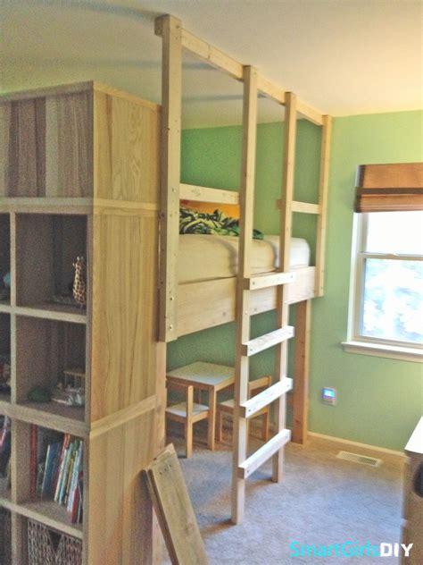 diy loft bed pdf diy diy loft beds diy playhouse