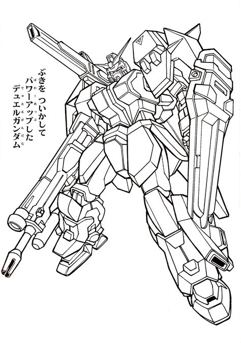 Coloring Gundam by Gundam005 Jpg