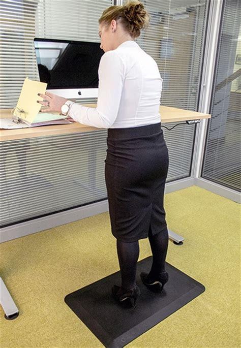 ergo standing desk mat orthomat office standing mat