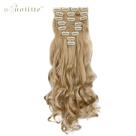 styling hair with extensions snoilite 24inch 170g curly 18 in false hair 2446