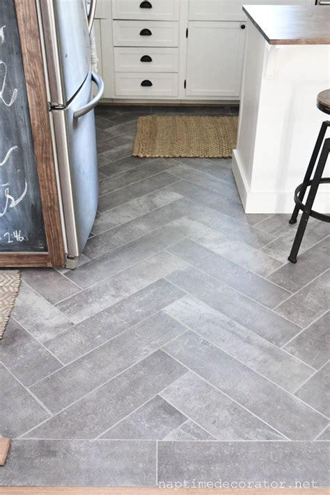 peel  stick floor tile   kitchen  gorgeous budget friendly diy kitchen remodel