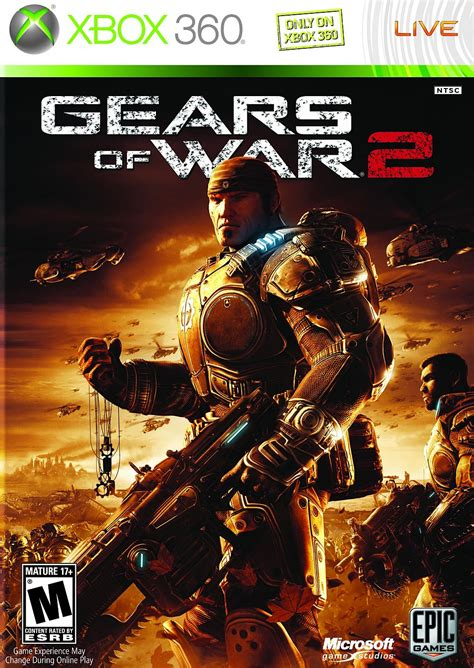 m xbox 360 games gears of war 2 xbox 360