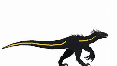 Indoraptor Dinosaur Walk Cycle Animation Walking Amino