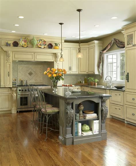 painted islands for kitchens painted island with light cabinets beautiful kitchens