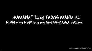 Tagalog Love Quotes For Him. QuotesGram