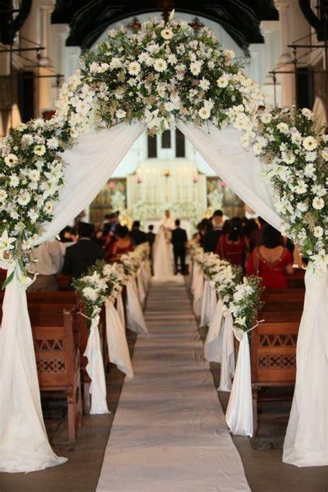 Flowers Bouquets Aisle Decor For Church Wedding Flowers