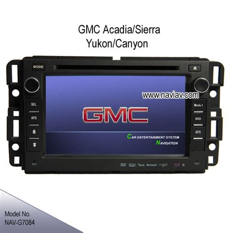 gmc acadia sierra yukon envoy oem  dash stereo dvd gps