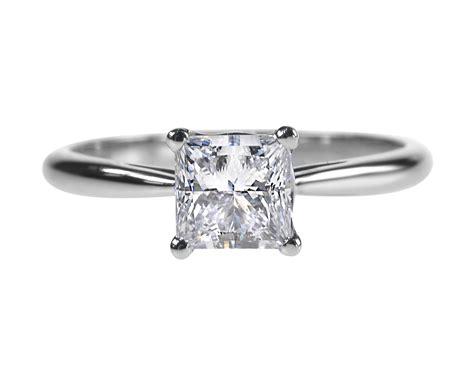 princess cut solitaire engagement rings princess cut ring 0 92ct engagement ring