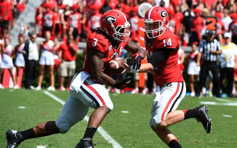 video georgia rb todd gurley shows heisman form
