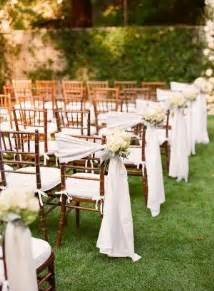 burlap chair sash 8 awesome and easy ways to decorate wedding chairs