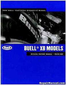 2008 Buell Xb Motorcycle Electrical Diagnostics Manual