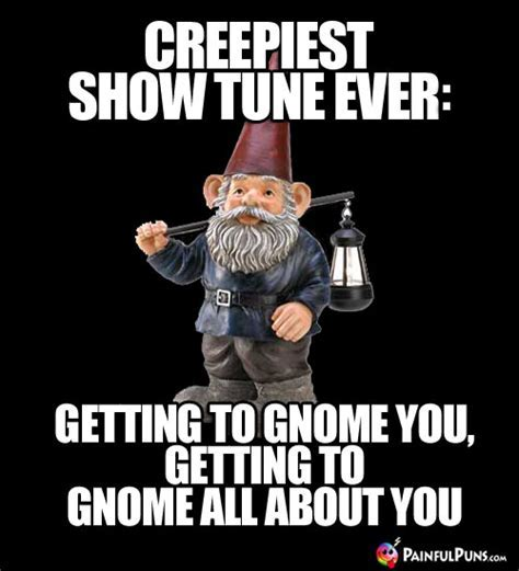 Zombie Gnome Jokes, Creepy Gnomes, Scary Troll Puns 6