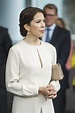 Crown Princess Mary of Denmark Wears Floral Dress While ...