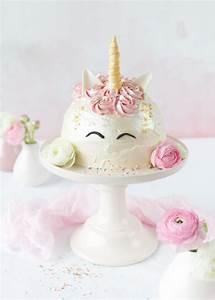 Einhorn Kuchen Deko : einhorn torte zum bloggeburtstag von feines handwerk kochrezepte ~ Eleganceandgraceweddings.com Haus und Dekorationen