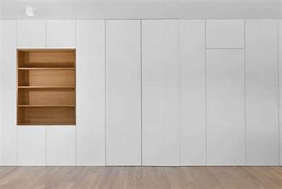 Wall Folding Apartment Arhitektura Archdaily Walls Kitchen