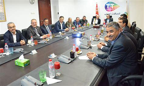tunisie telecom siege les dirigeants de l ugtt reçus au siège de tunisie telecom