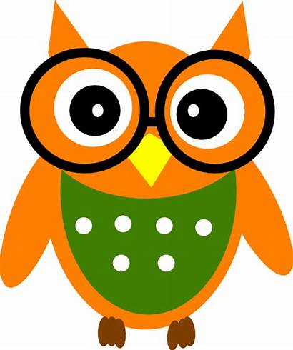 Owl Clever Clipart Clip Cliparts Clker Clipground