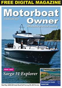 Motorboat Owner February 2017 By Digital Marine Media Ltd