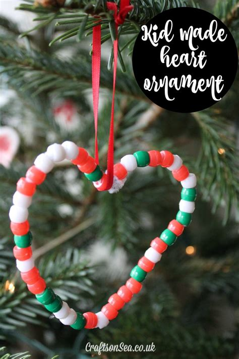 easy to make christmas ornaments for kids easy ornaments for crafts on sea