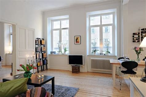 Swedish 58 Square Meter Apartment Interior Design With Kitchen Corner Cabinet Carousel Wooden Cabinets China In Trim On Redoing Kitset Nz Paint Colors For Walls With White 10x10 Cost