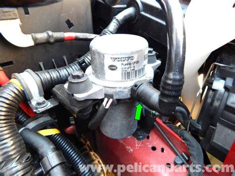 volvo  brake booster vacuum pump replacement