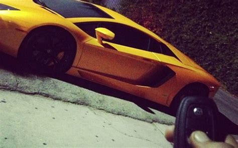 chris browns hot  car garage