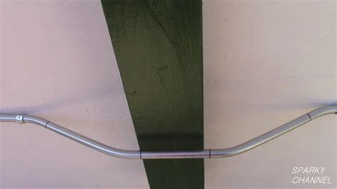 emt conduit bending  point saddle bend  stub
