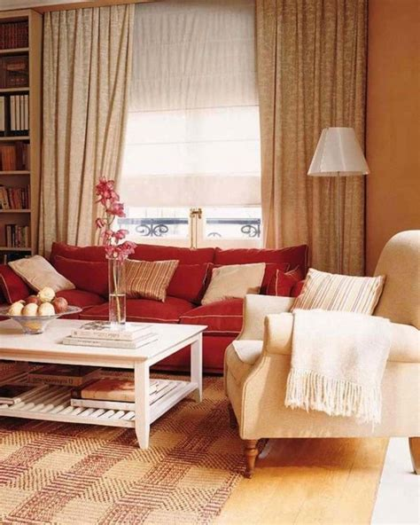 minimalist decor red couch living room ideas red couch
