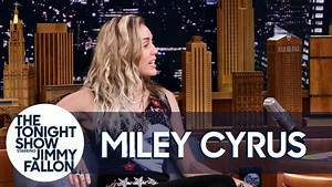 Miley Cyrus Reveals Why She Opened Tonight Show with Dido ...