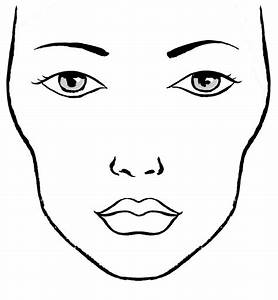 Milk1422 Face Charts Blank Blanco Facecharts To Create Makeup Looks On Paper Great
