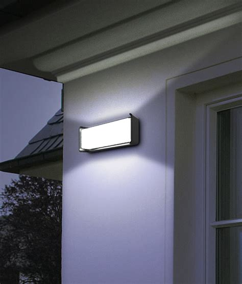 heka series led exterior surface mounted wall lights