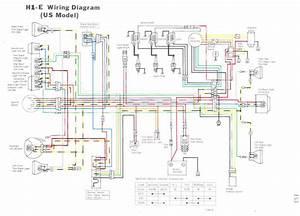 1972 Kawasaki F7 Wiring Diagram