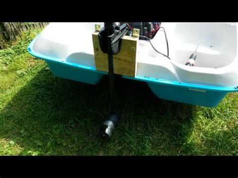 Pedal Boat German by Paddle Boat And Trolling Motor Funnydog Tv