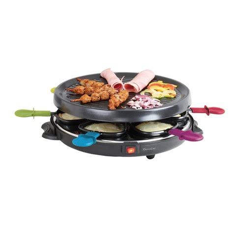 appareil à raclette 6 personnes domoclip raclettes