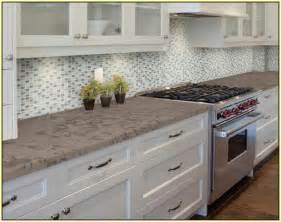 Stick On Kitchen Backsplash Tiles Peel And Stick Tile Backsplash Home Design Ideas