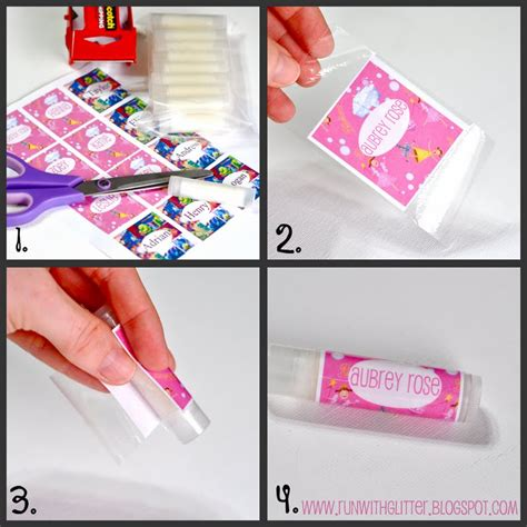 Free Chapstick Label Template by Beneath The Rowan Tree Make Your Own Lip Balm