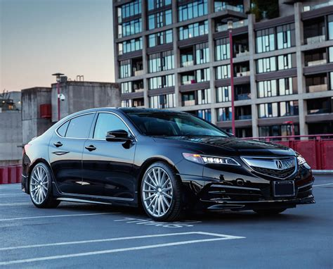 rims for acura tlx acura tlx vossen vfs2 silver polished