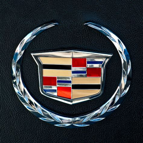 Cadillac Emblem Photograph By Jill Reger