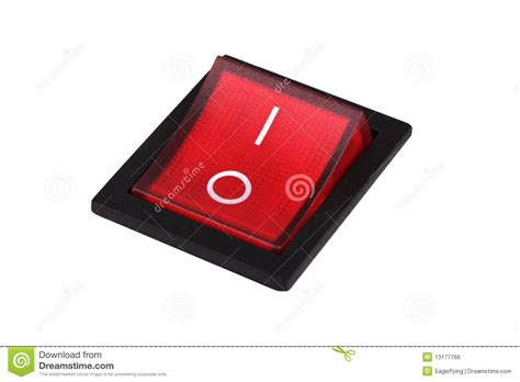 Power Switch Stock Photo Image Of Position, Power, Device