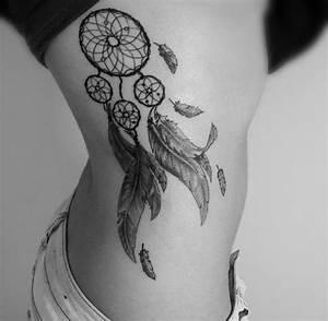 Tatouage Attrape Reve Homme : tatouage cote femme attrape reve ~ Melissatoandfro.com Idées de Décoration