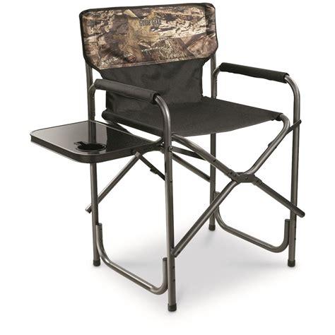 guide gear oversized mossy oak camo director s chair