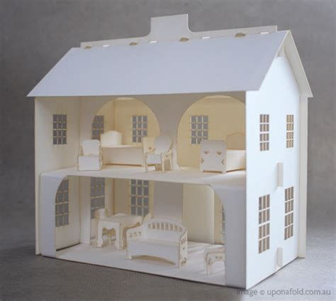 creative ideas   paper doll house