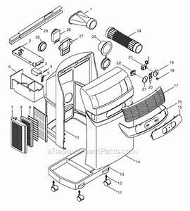Delonghi Pac03u Parts List And Diagram   Ereplacementparts Com