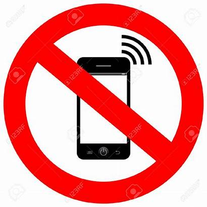 Mobile Handy Clipart Phone Switch Telefoon Verboten