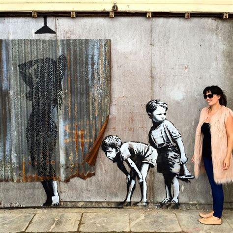 a look inside banksy's dismaland with artist barry salzman